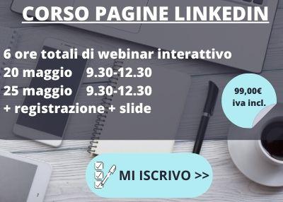 corso pagine linkedin online 2020
