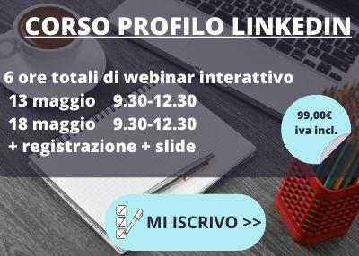 corso profilo linkedin online 2020